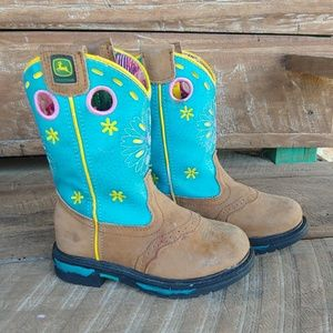 John Deere Girls Boots